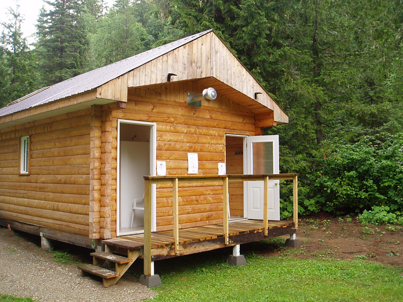 Clearwater Lake shower house