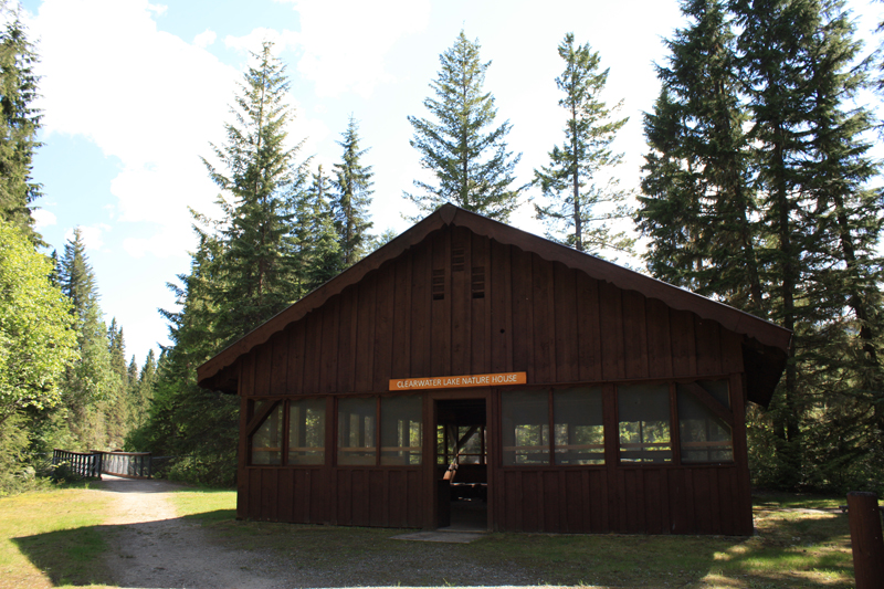 Clearwater Lake nature house