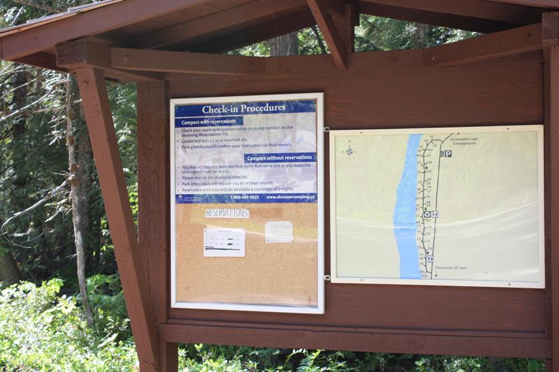 Falls Creek check-in