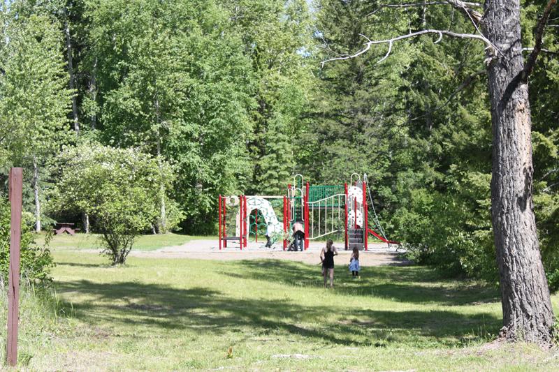 Mahood Lake campground