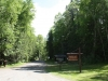 Mahood Lake campground entrance