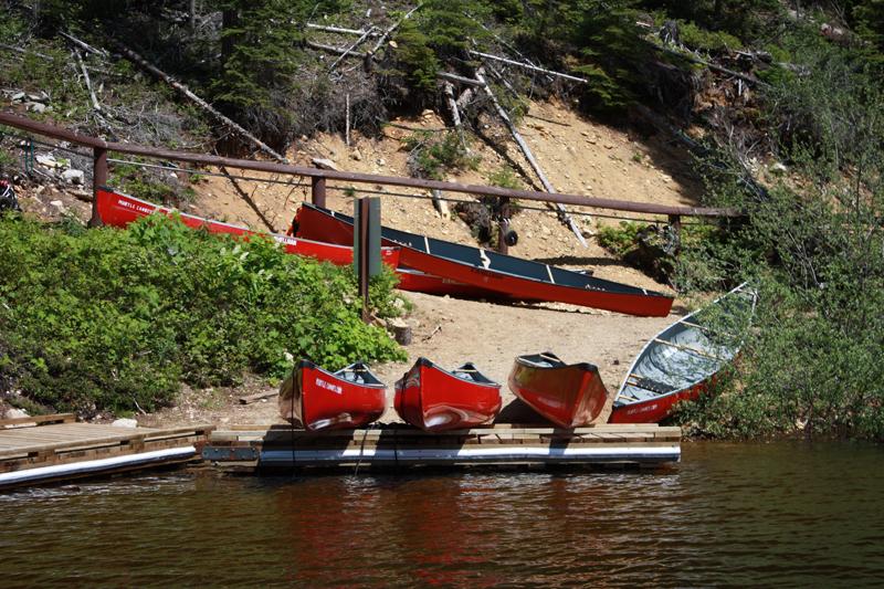 Murtle canoe launch