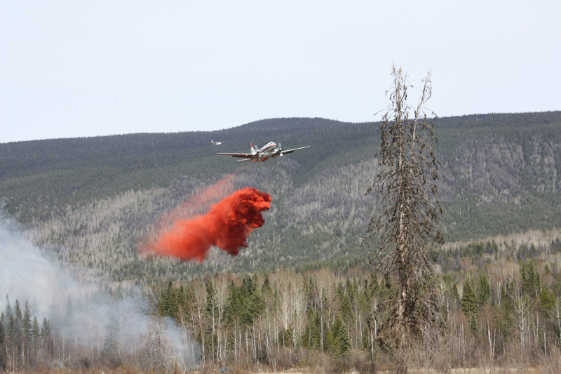 28 km Fire fighting below Battle Mountain