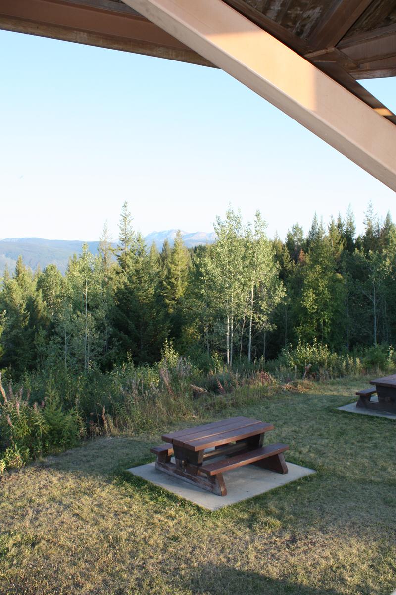 38 km Green Mountain picnic area