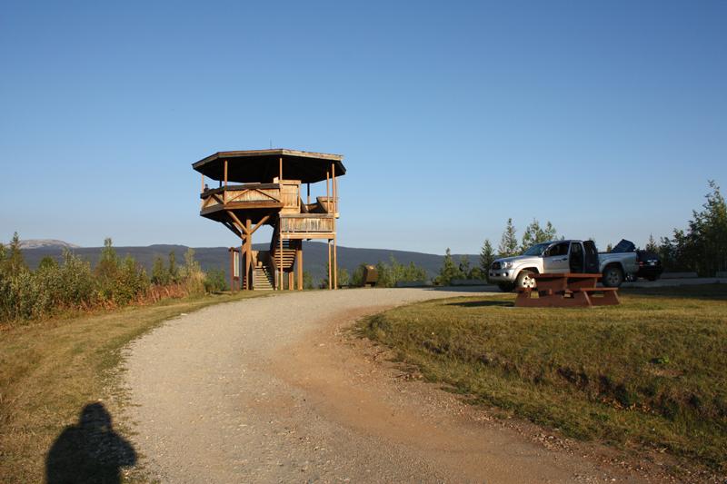 38 km Green Mountain tower