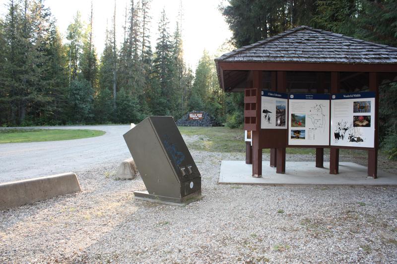 37 km Hemp Creek info board
