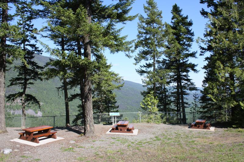 11 km Shaden picnic site
