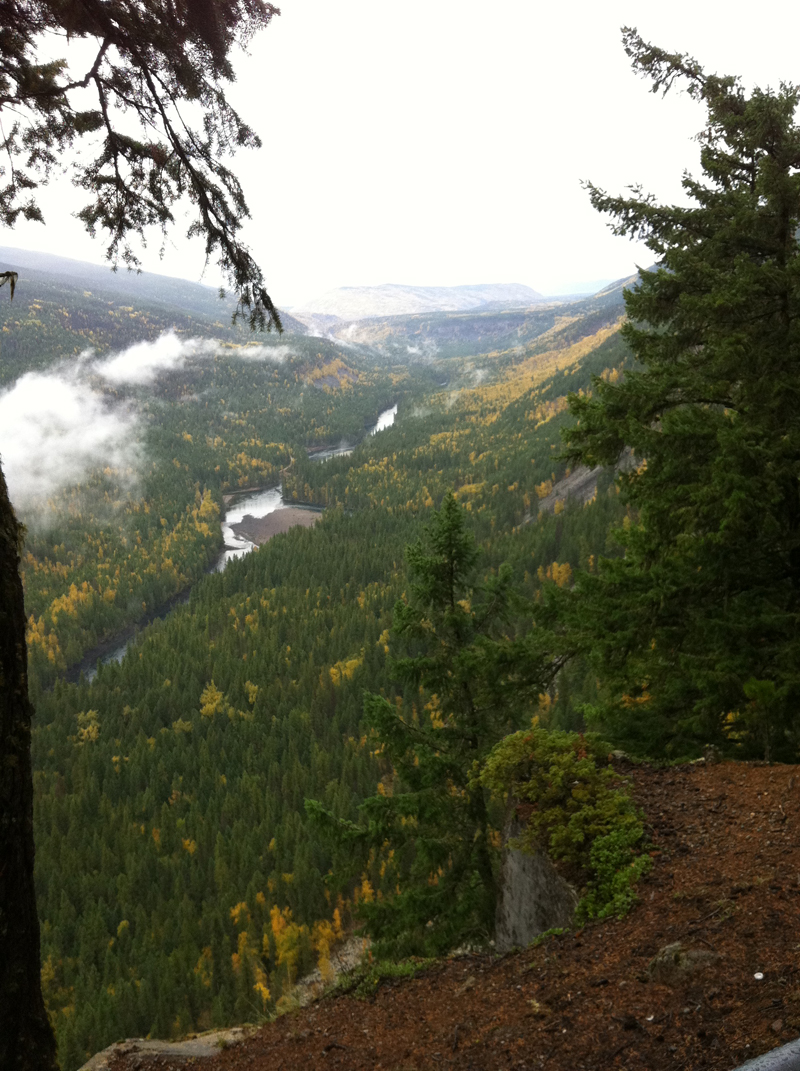 11 km Shaden viewpoint