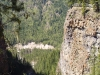 10 km Spahats Falls platform