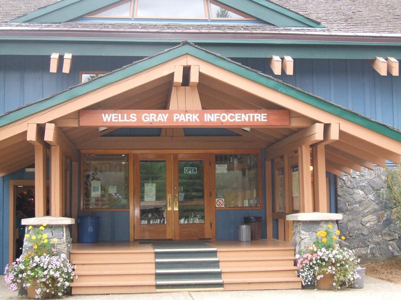0 km Wells Gray Info Centre